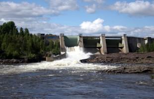 Stornorrfors dammen